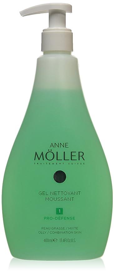 Anne Möller Gel Nettoyant Moussant - Loción anti-imperfecciones, 400 ml