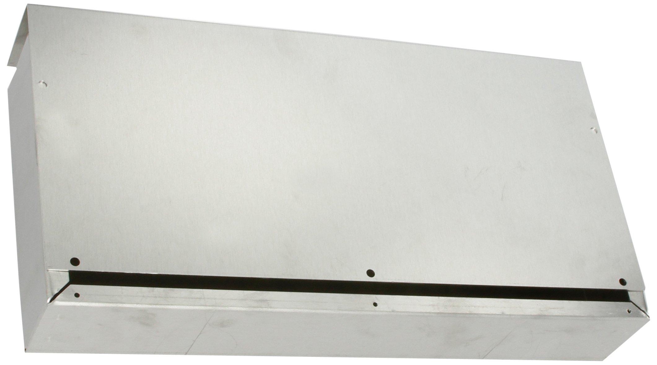 BUD Industries CU-712-A Aluminum Converter Box, 15'' Width x 2-1/2 Height x 7'' Depth, Natural Finish