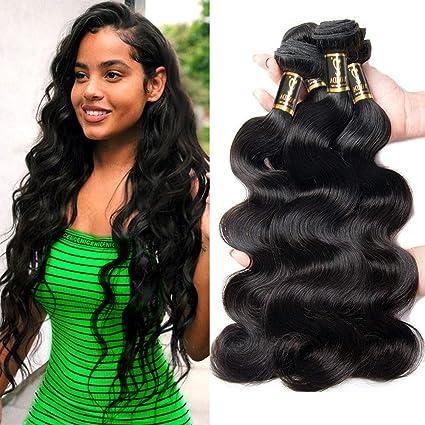 estilos de moda zapatillas de skate online Paquete de 3 manojos de cabello peruano virgen Yavida 7A, extensiones de  cabello humano de origen peruano natural, 7A, cabello natural, color moreno