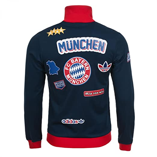 Jersey Munich Patch TT - azul oscuro, XXL: Amazon.es ...