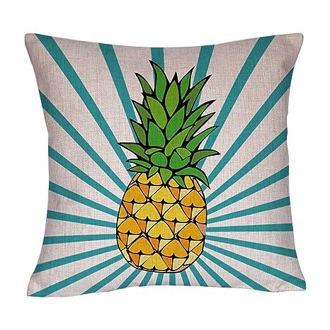 Amazon.com: decopow Piña Pillow Cover, Big Pattern – Funda ...