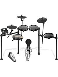 Alesis Drums Nitro Mesh Kit | Eight Piece All-Mesh Electronic Drum Kit With Super-Solid Aluminum Rack, 385 Sounds, 60...