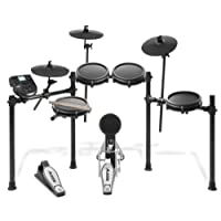 Alesis Nitro Mesh Kit | Eight Piece All-Mesh Electronic Drum Kit with Connection Cables, Drum Sticks & Drum Key Included