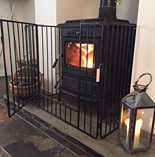 babydan premium hearth gate fire guard black amazon co uk baby rh amazon co uk fireplace safety gate for toddlers Toddlers Being Safe Outside