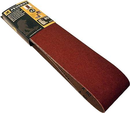 Lot de 3 bandes abrasives pour pon/çage /à grain 240 915 x 100 mm