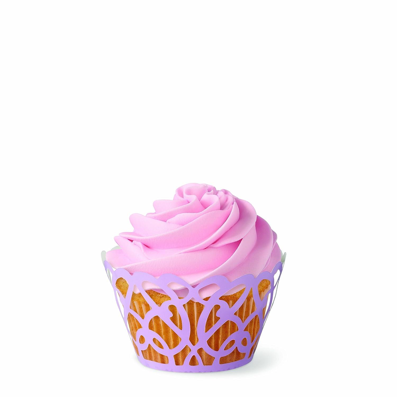 wilton 415 0182 wilton pearl swirl cupcake wraps 18