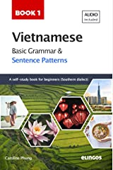 Vietnamese Basic Grammar and Sentence Patterns - Book 1 (Audio available): A self-study reference book for absolute beginners in Southern dialect (Vietnamese Sentence Patterns) Kindle Edition