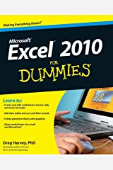 Excel 2010 For Dummies Paperback
