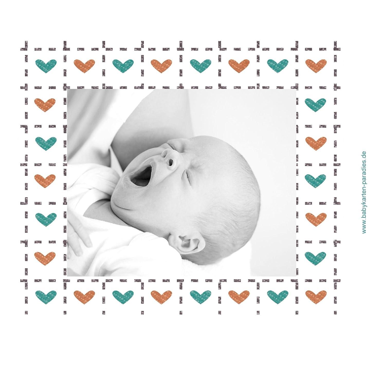 Kartenparadies Danksagung für Geburt Geburt Geburt Baby Dankeskarte Herzrahmen, hochwertige Danksagungskarte Baby inklusive Umschläge   10 Karten - (Format  145x145 mm) Farbe  Lila B01N6WW2UF | Outlet Store Online  | Spielen Sie auf der ganzen Welt und verhi e4ff87