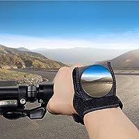 Bicycle Mirrors Wrist Mirror Rearview Wristband Handlebar Reflector Wristband