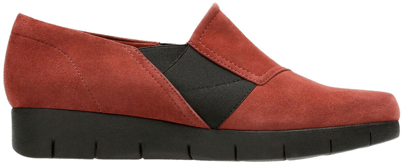 CLARKS Women's Daelyn Monarch Slip On B07761DJQL 9.5 C/D US|Rust