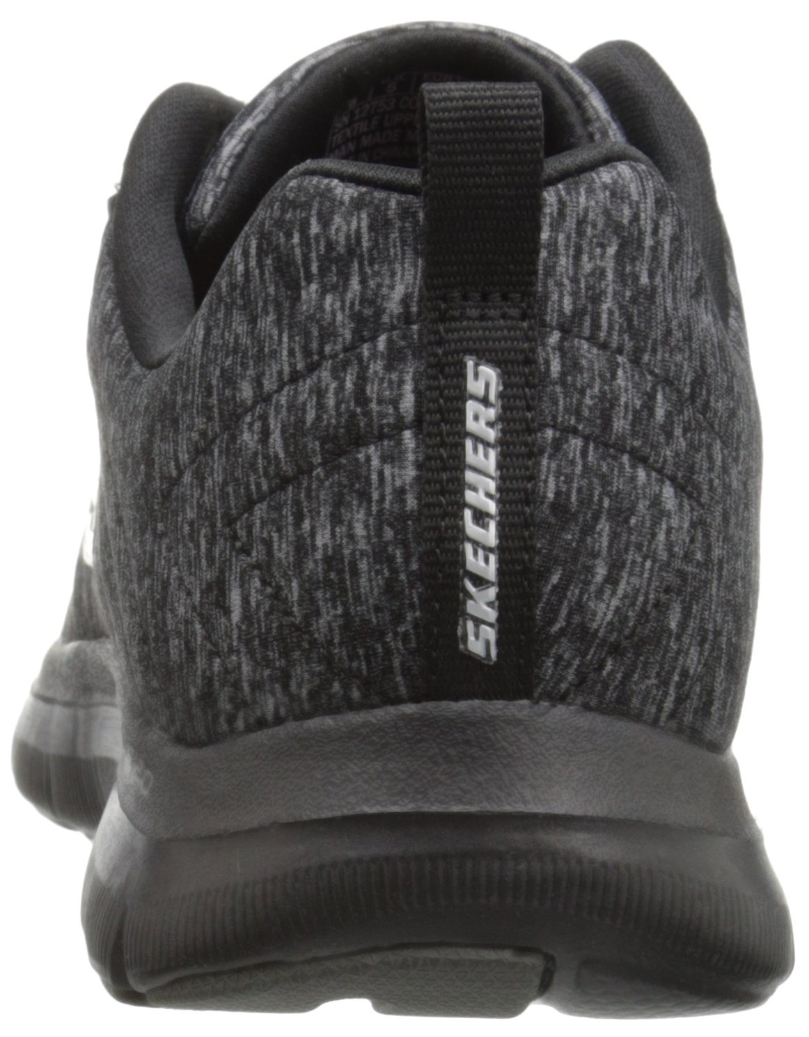 Skechers Women's Flex Appeal 2.0 Sneaker B01AHK4ZX0 6 B(M) US|Black/Charcoal