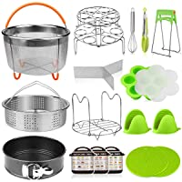 Aiduy 18 pieces Pressure Cooker Accessories Set Compatible with Instant Pot 6,8...