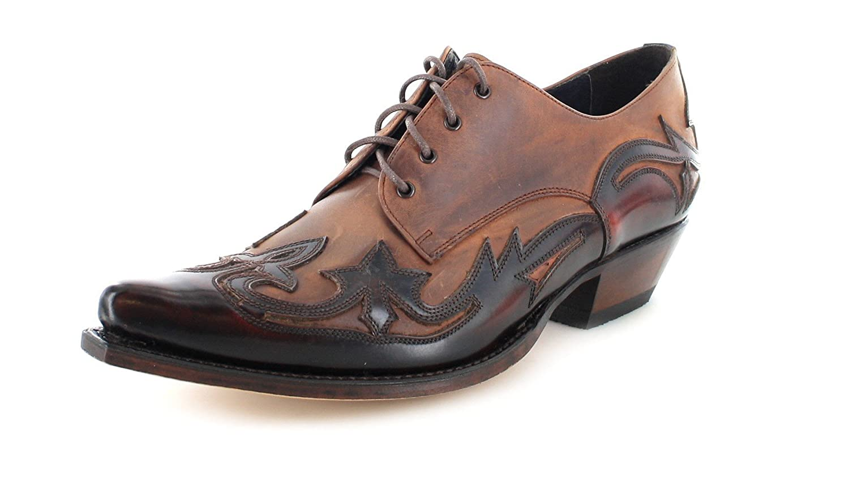 Sendra Boots Western Zapatos 10066 con cordones 41|Fuchsia 7004