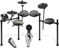 "Alesis Nitro Mesh Kit | Electronic Drum Set with 8"" Snare, 8"" Toms, and 10"" Cymbals"