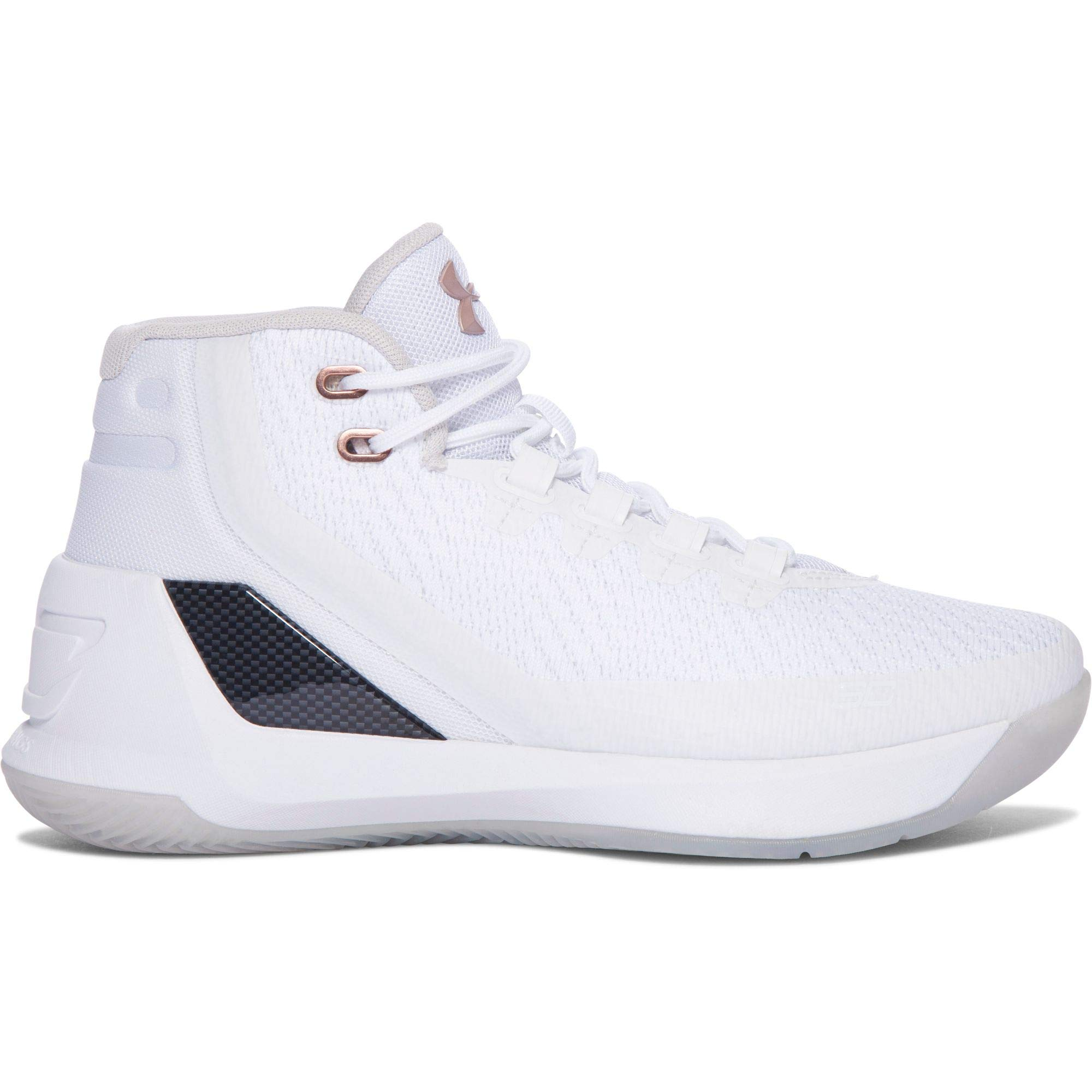 5d2293f68560 Galleon - Under Armour Boys  Grade School UA Curry 3 Basketball Shoes 5  White