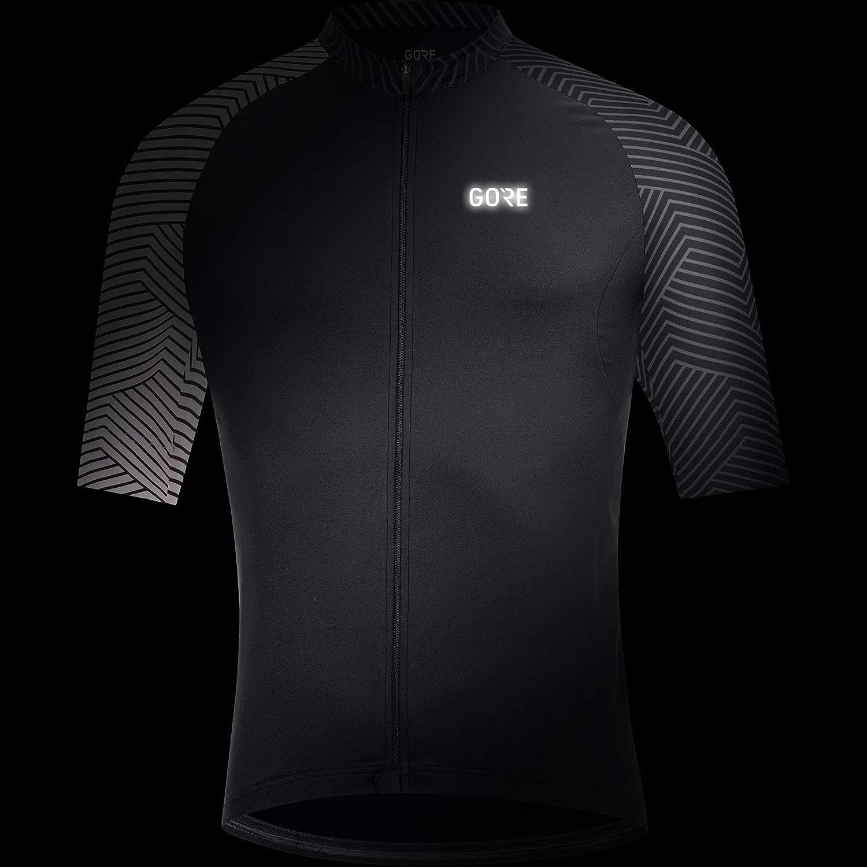 100164 GORE Wear C5 Optiline Jersey GORE Wear Mens Breathable Road Bike Raglan Cut Sleeve Jersey