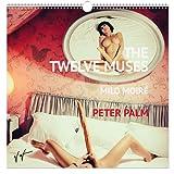 """""""THE TWELVE MUSES""""Künstlerischer Aktkalender 2016 mit MILO MOIRÉ, fotografiert von Starfotograf PETER PALM (Wandkalender, 50x50cm/20x20inches, 12 Motive, Spiralbindung)"""