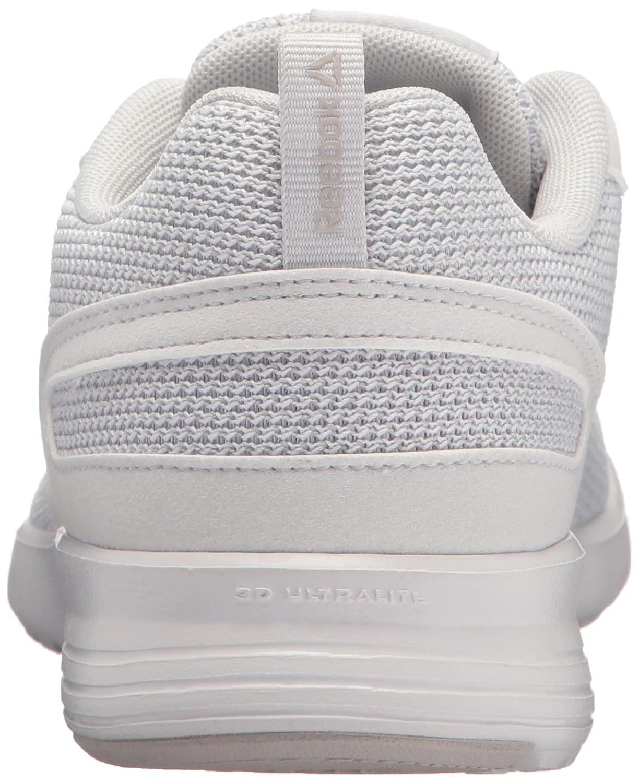 Reebok Women's Foster Flyer Track Shoe B073X8NCKZ 5 B(M) US|Porcelain/Steel