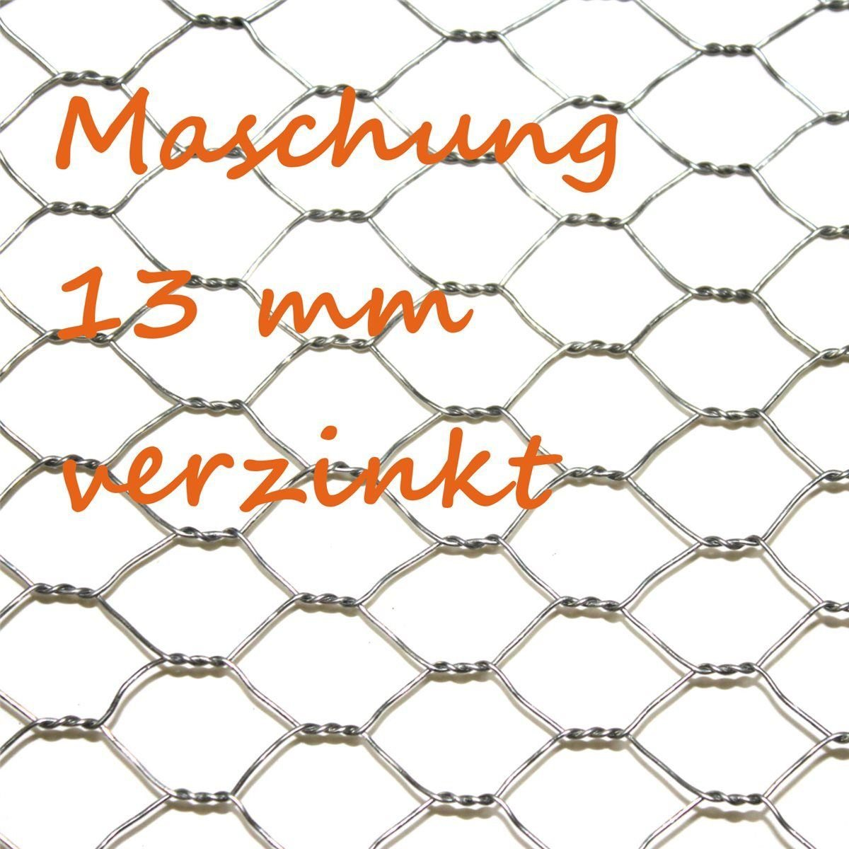 Sechseckgeflecht 1m x 25m + kostenloser Versand /// Kaninchendraht ...