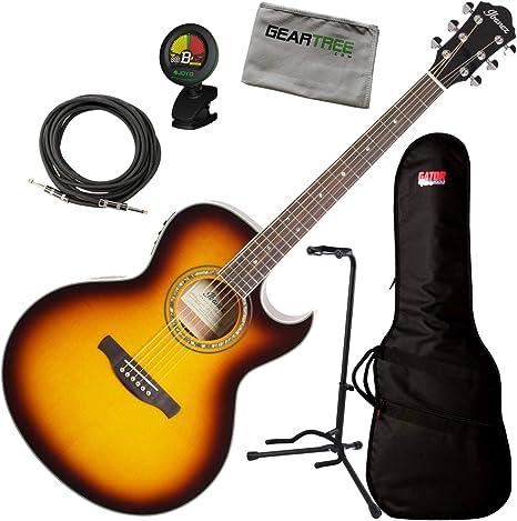 Ibanez JSA5VB Joe Satriani Signature - Guitarra acústica (incluye ...
