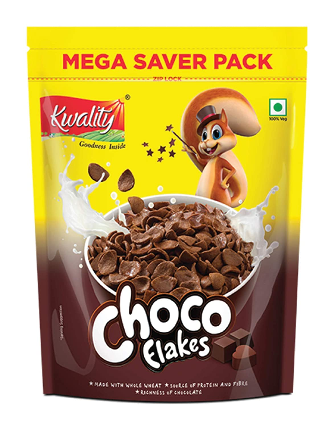 Kwality Choco Flakes,1Kg, Pack of 1)