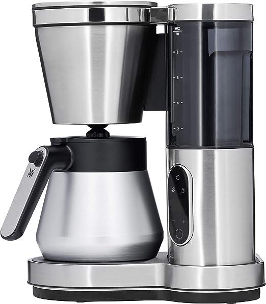WMF Lumero - Cafetera con termo, 8 tazas, depósito de agua extraíble, pantalla táctil, sistema antigoteo, filtro giratorio, apagado automático, 800 W: Amazon.es: Hogar