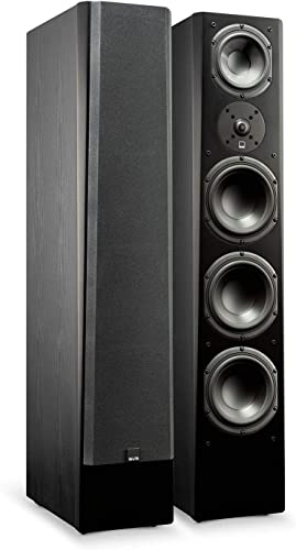 SVS Prime Pinnacle 3-Way Tower Speaker Pair – Premium Black Ash