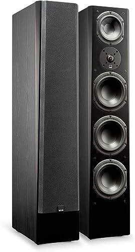 SVS Prime Pinnacle 3-Way Tower Speaker Pair – Premium Black Ash