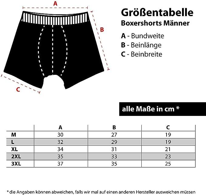 Gr/ö/ße S bix XXXL Spa/ß kostet M/änner Boxershort mit Spruch Knackarsch