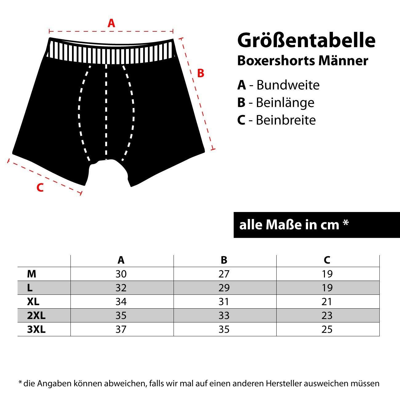 Spa/ß kostet M/änner Boxershort mit Spruch Knackarsch Gr/ö/ße S bix XXXL