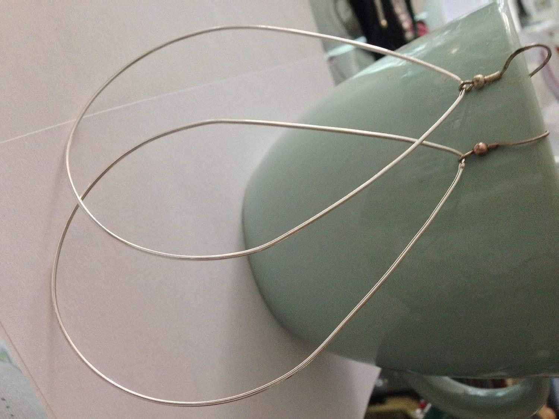 Large Teardrop Hoop Earrings //// Large 14K Gold Filled Handmade Tear Drop Hoops//Sterling Silver Hoop Earring//Rose Gold Hoop Earring by custom jewelry hoop BALI SILVER