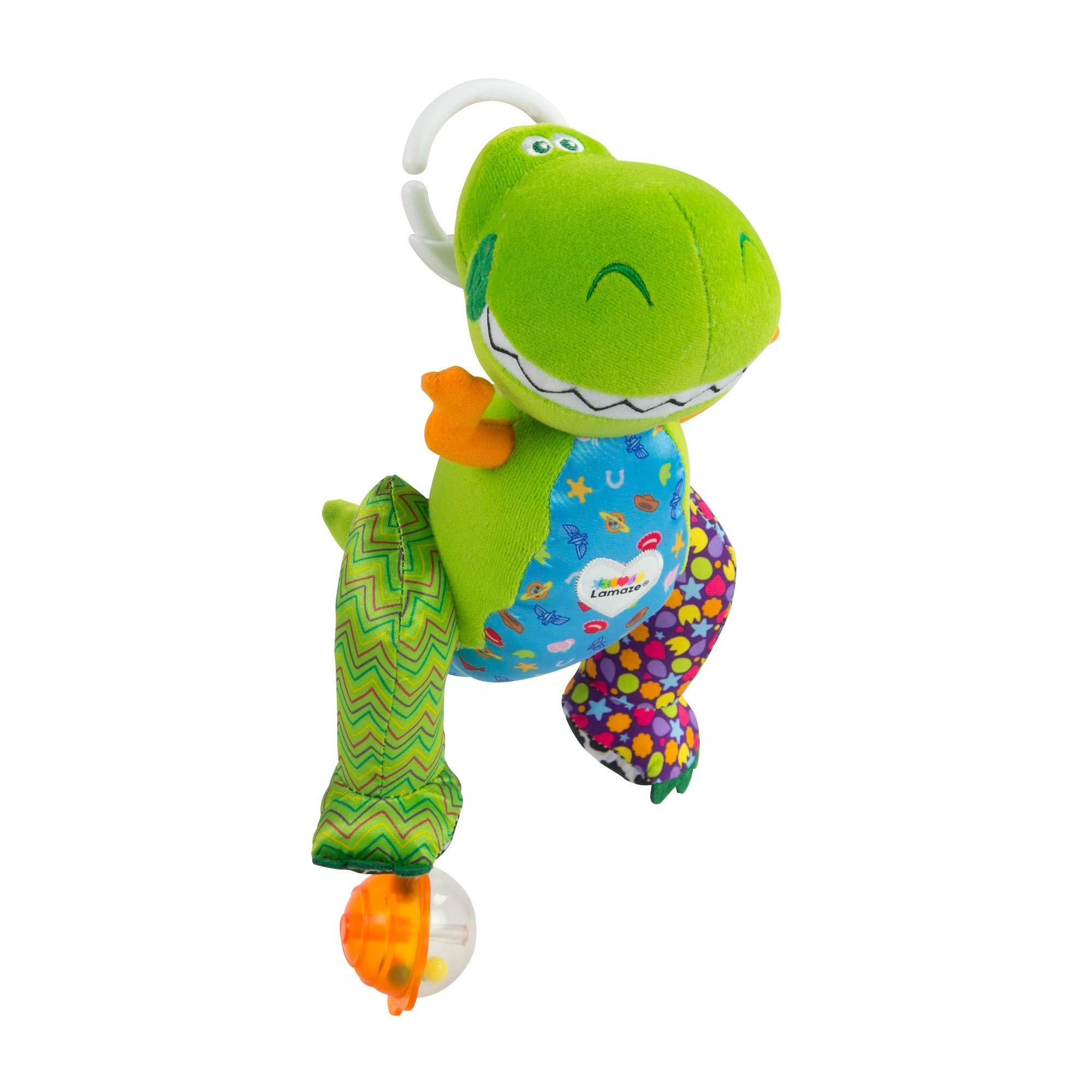 Lamaze Disney/Pixar Toy Story Clip & Go Rex Stroller Toy by LAMAZE