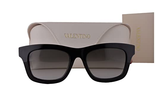 Amazon.com: Valentino V691S – Gafas de sol, Color negro y ...