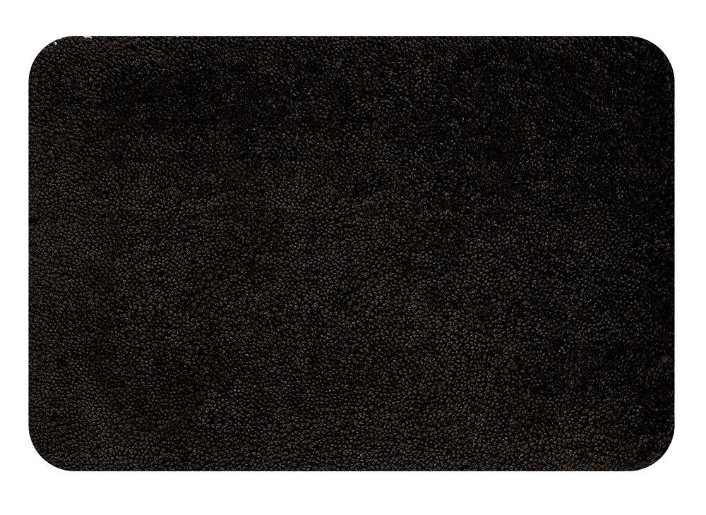 Spirella 1016222 Highland Tapis De Bain Noir 70 X 120 Cm