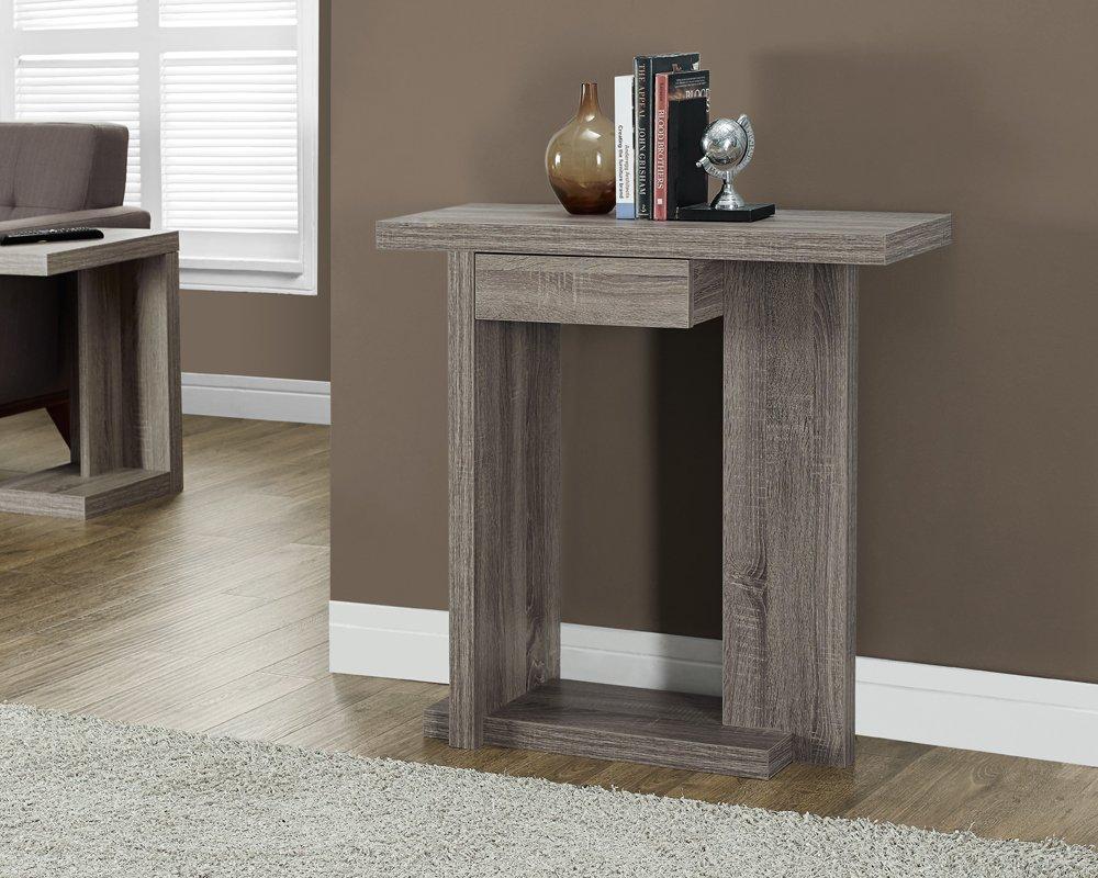 Monarch Desks Specialties Hollow Core L Shaped Desk More. Monarch  Specialties Cement Look Hall Console Table ...