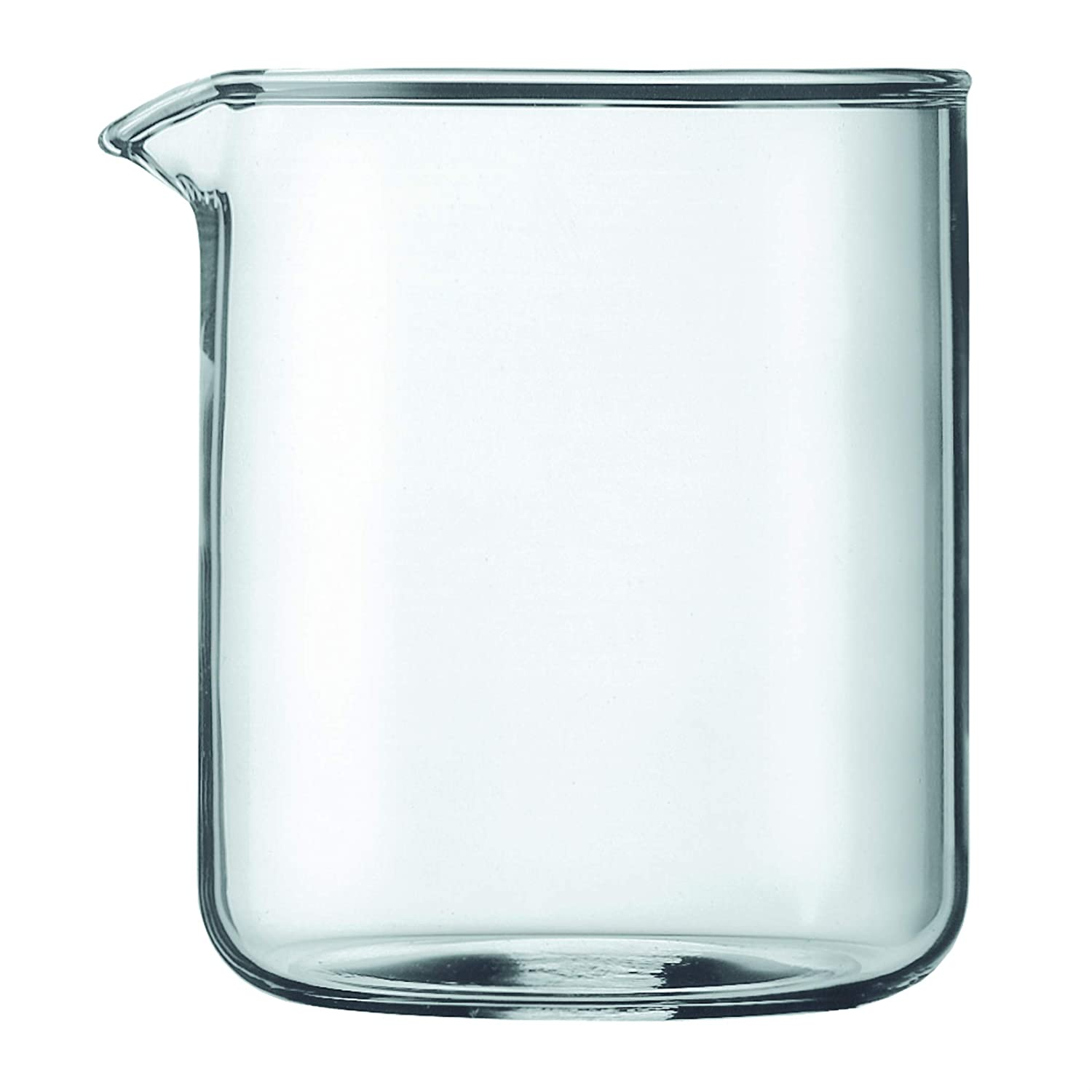 Bodum Spare Beaker For French Press Coffee Maker, 0.5 Liter, 17 Ounce, 4 Cup
