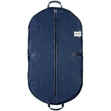 Fyore transpirable ropa bolsa de transporte para traje y Vestido Ropa impermeable doble plegable mango para viaje 120 60 cm caf/é