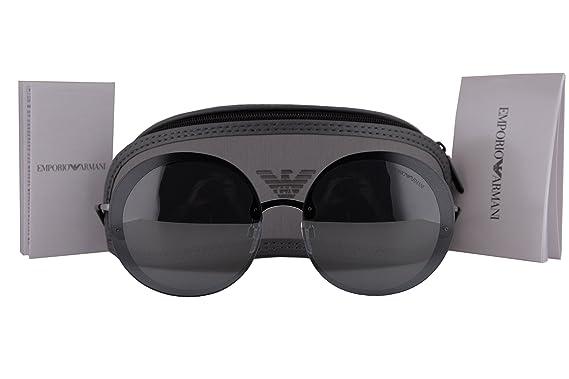 Amazon.com: Emporio Armani ea2044 Gafas de sol Gunmetal Gris ...