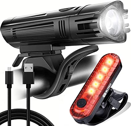 USB Led Bicycle Light Headlight Tail Light for Mountain Bikes Accessories