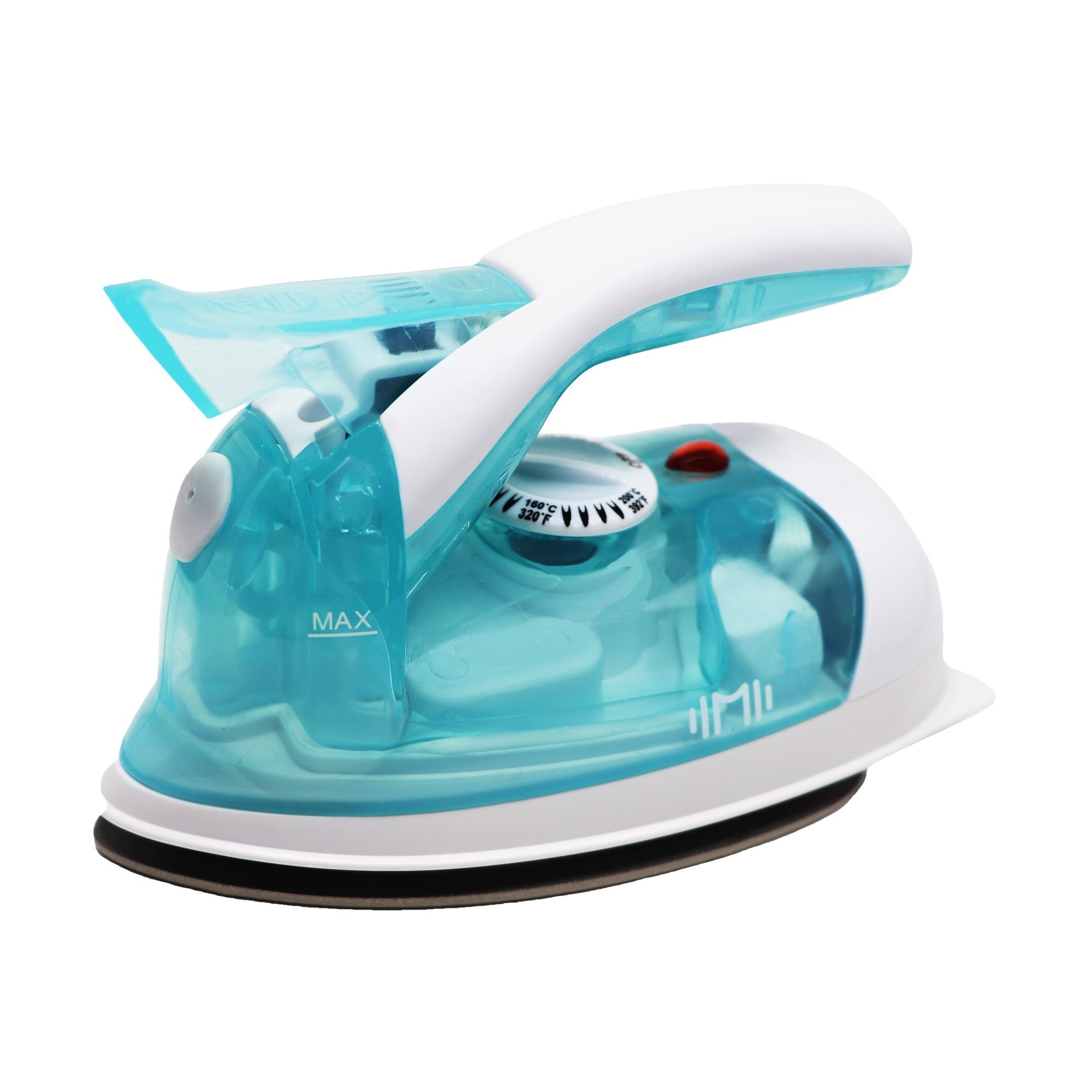 IIMII Mini Travel Steam Iron, Dual Voltage 560W Power, Rapid Heating, Powerful Steam, Non-Stick Soleplate and Compact Design, Best for Home and Travel