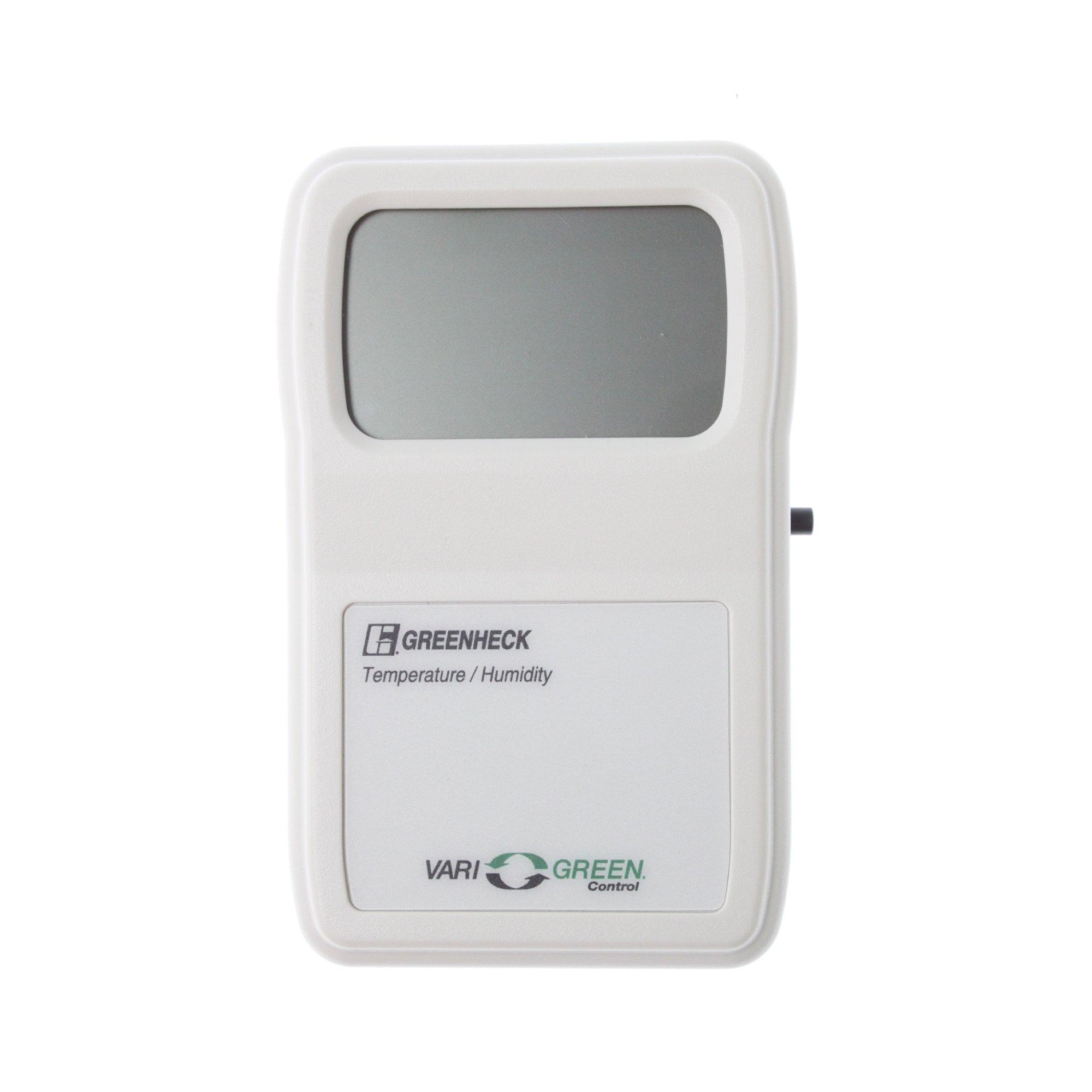 Greenheck 384666 Vari-Green Temperature & Humidity Controller, 12-35Vdc, White