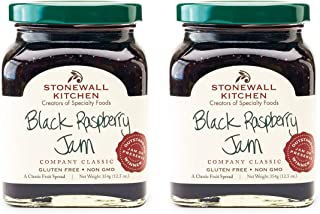 product image for Stonewall Kitchen Black Raspberry Jam, 12.5 ounces (Pack of 2)