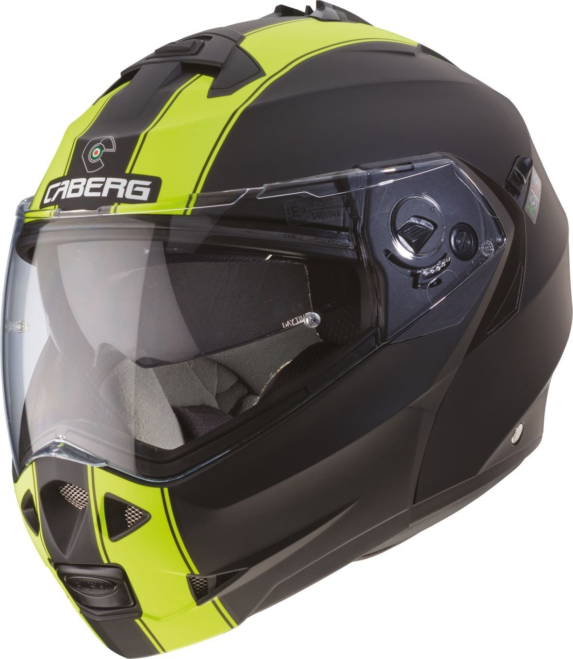 Caberg Klapp Helm Duke II 2 Motorrad Bel/üftet Sonnenblende Pinlock Visier Jet Brillentr/äger Gr/ö/ße S 308650 Farbe Gunmetal