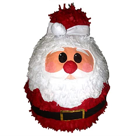 santa claus pinata 18 christmas decoration party game and photo prop