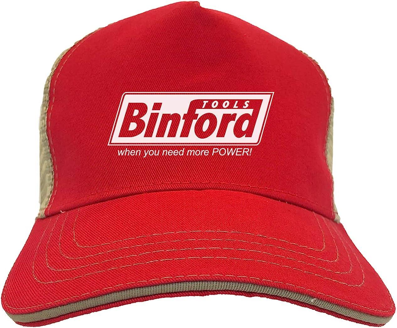 Binford Tools - TV Parody Funny Twill Soft Mesh Trucker Hat