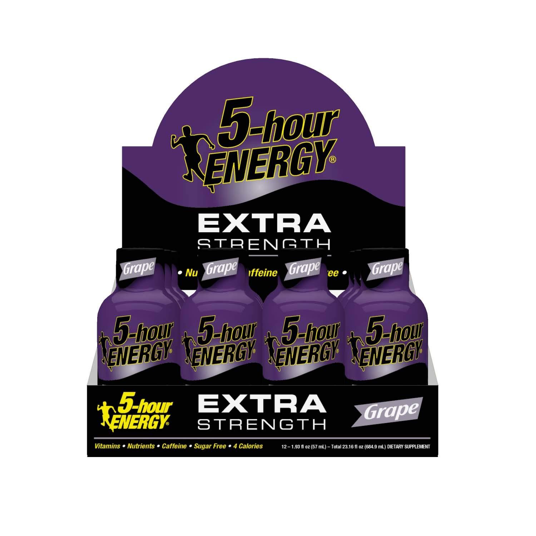 5-hour ENERGY Shot, Extra Strength Grape, 1.93 oz, 24 Count by 5-Hour Energy (Image #5)