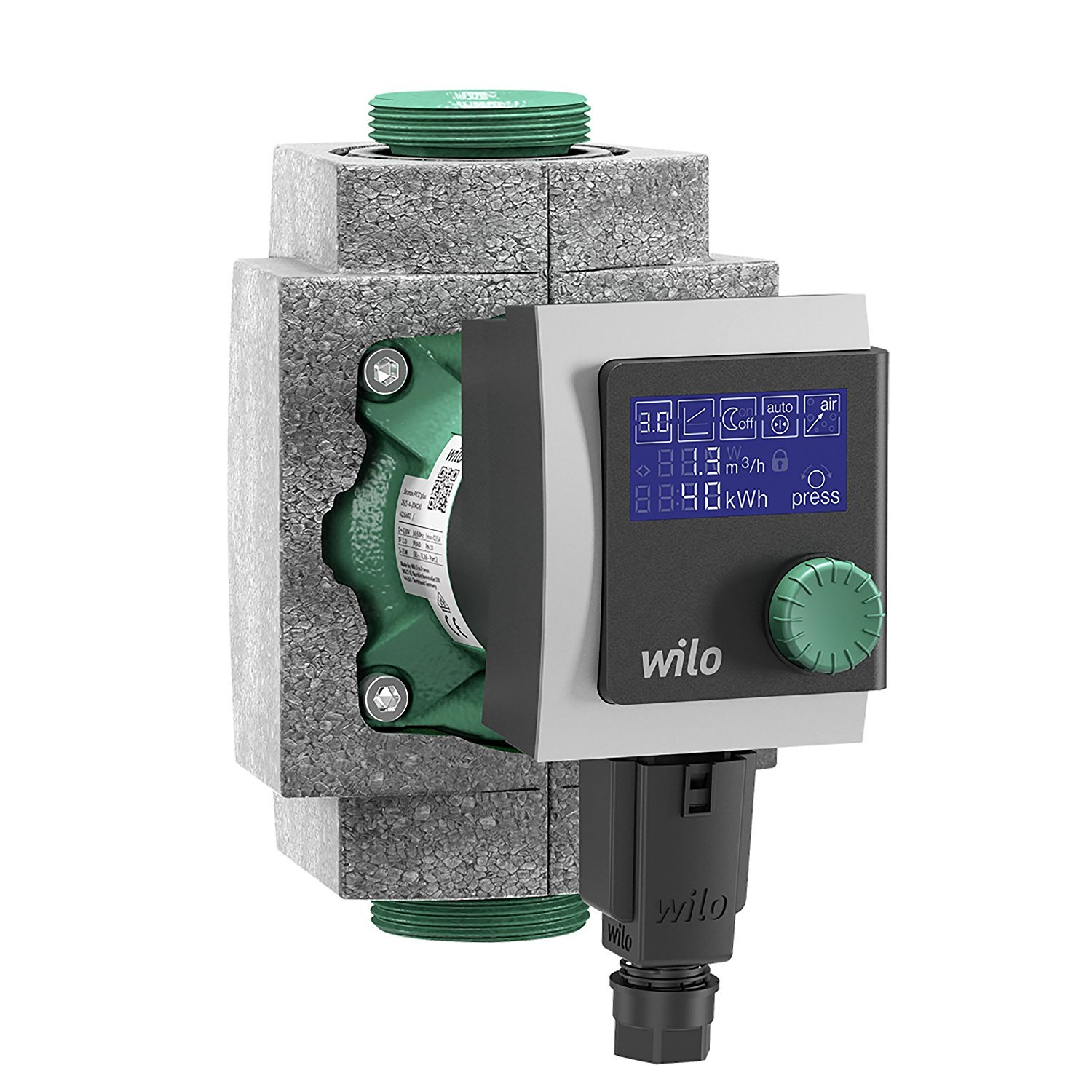 Wilo high-efficiency pump Stratos Pico 25/1-6 180mm with thermal insulation