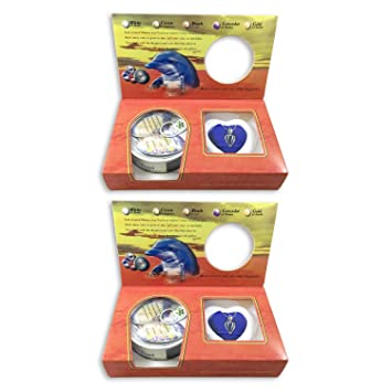 Great for Gift! Love Purity Wish Pearl Kit 2-Pack Comes with Silver Plated Necklace Harvest Your Own Pearl from a real freshwater Oyster