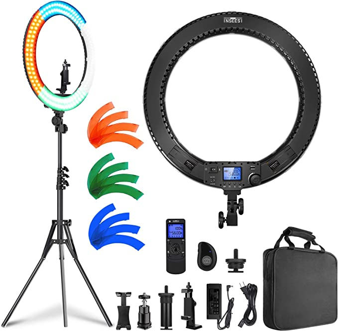 INSEESI Ring Light with Stand